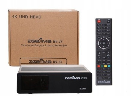 Zgemma H9.2S V.2 UHD 4K 10 SZT.