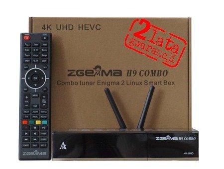 Zgemma H9 Combo UHD 4K KODI