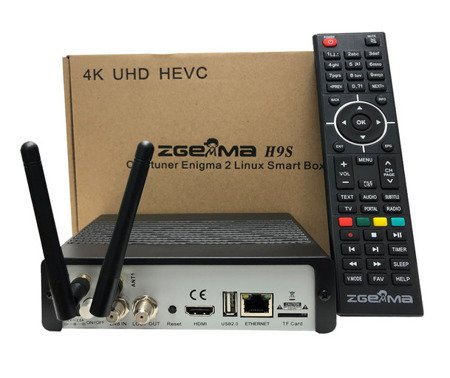 Zgemma H9S 32GB UHD 4K KODI